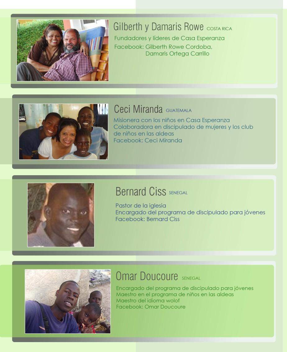 misioneros comunidad